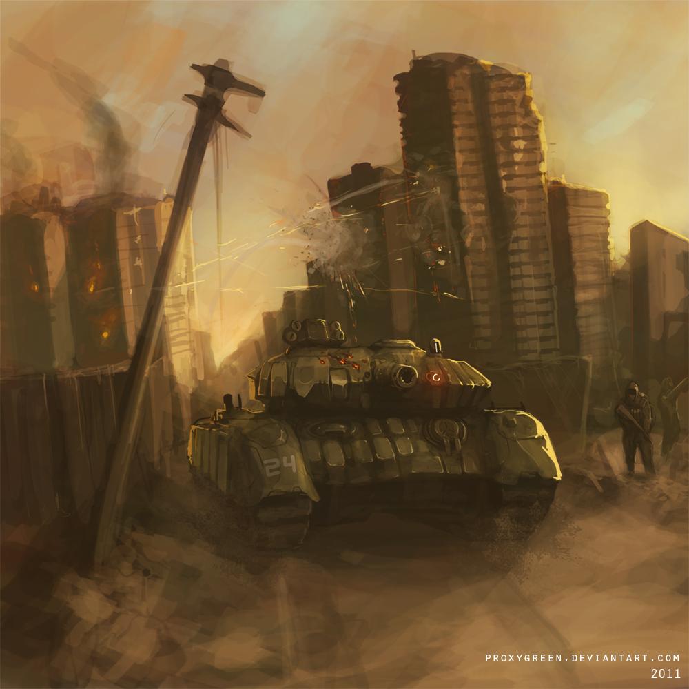 Combat by ProxyGreen