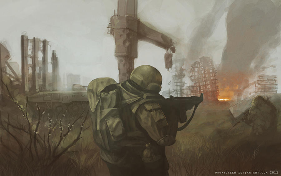 Combat 3 by ProxyGreen