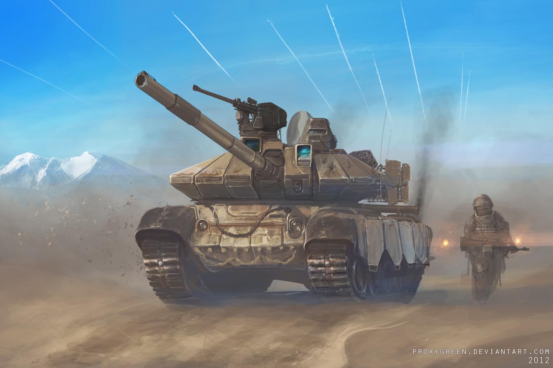 Tank 2 by ProxyGreen