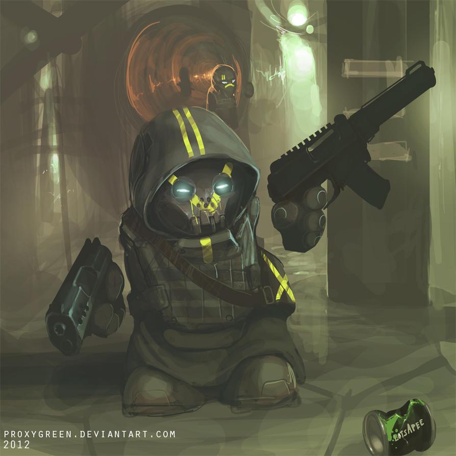 Techno Barbarians by ProxyGreen