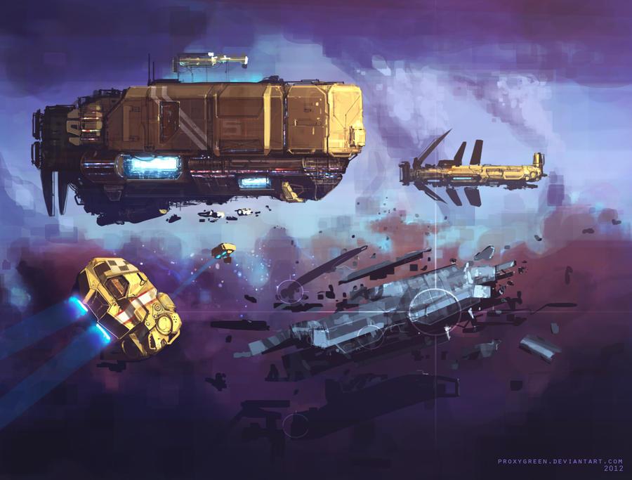 Space opera by ProxyGreen
