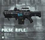 Pulse rifle weapon concept