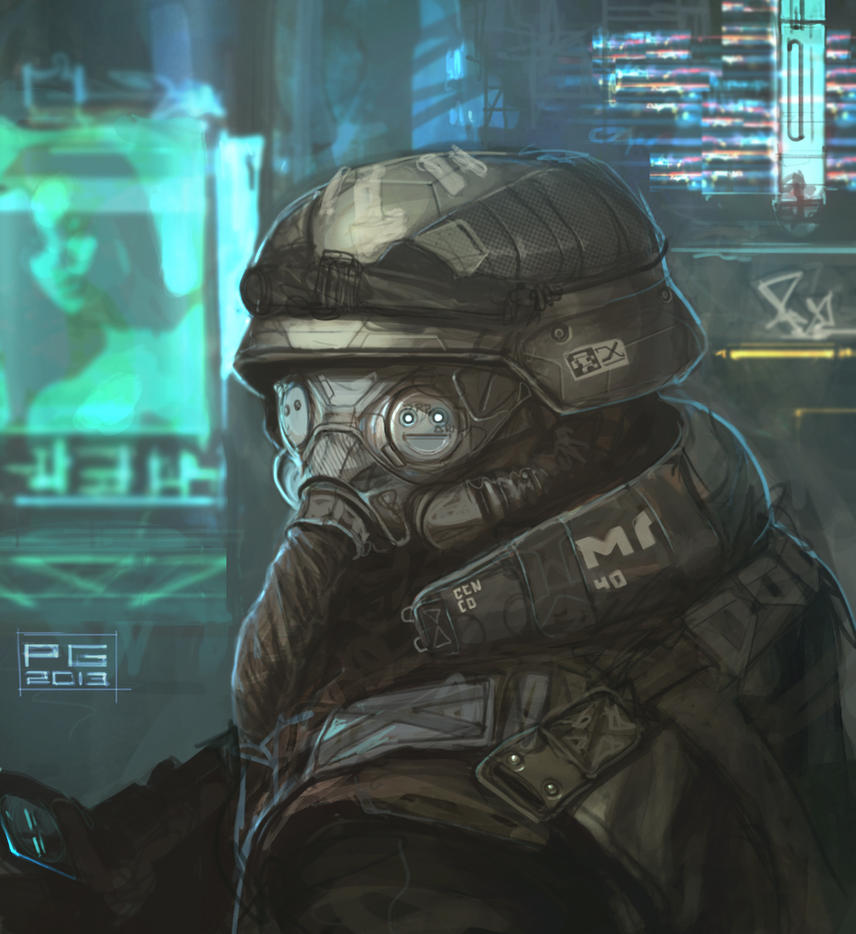 Cyber trooper 6 by ProxyGreen