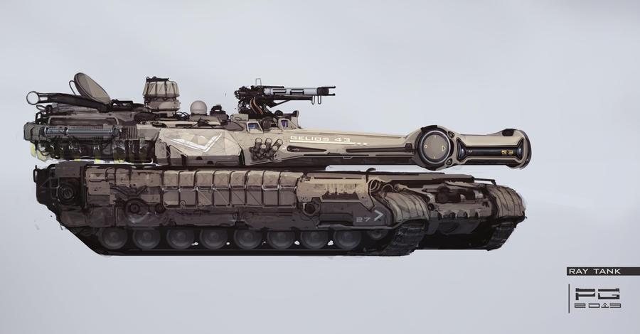 Ray tank by ProxyGreen