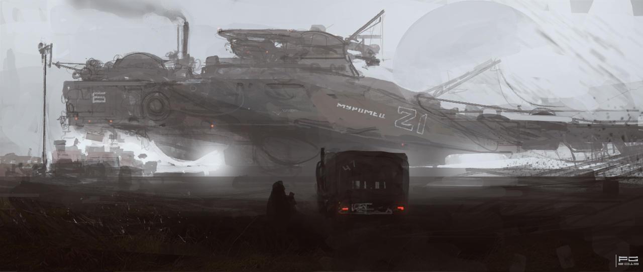 Harvest station by ProxyGreen
