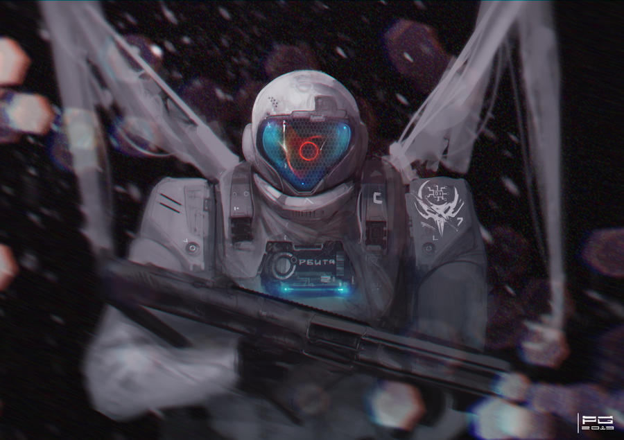 Cyber trooper 9 by ProxyGreen