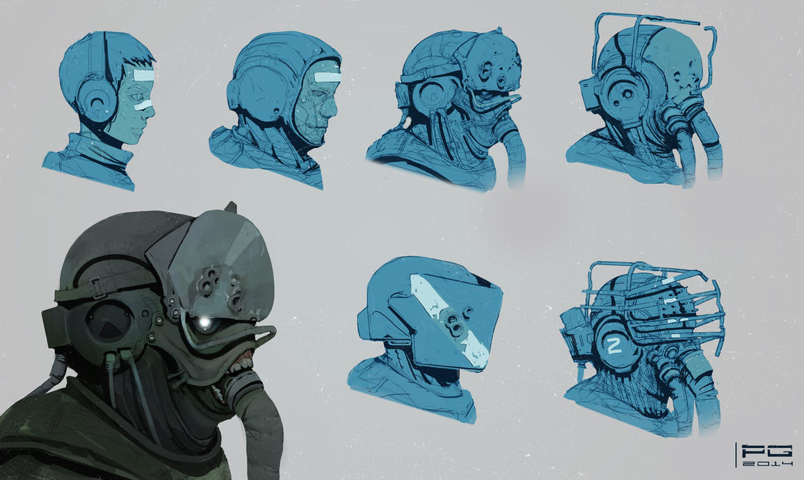 Soldier concept by ProxyGreen