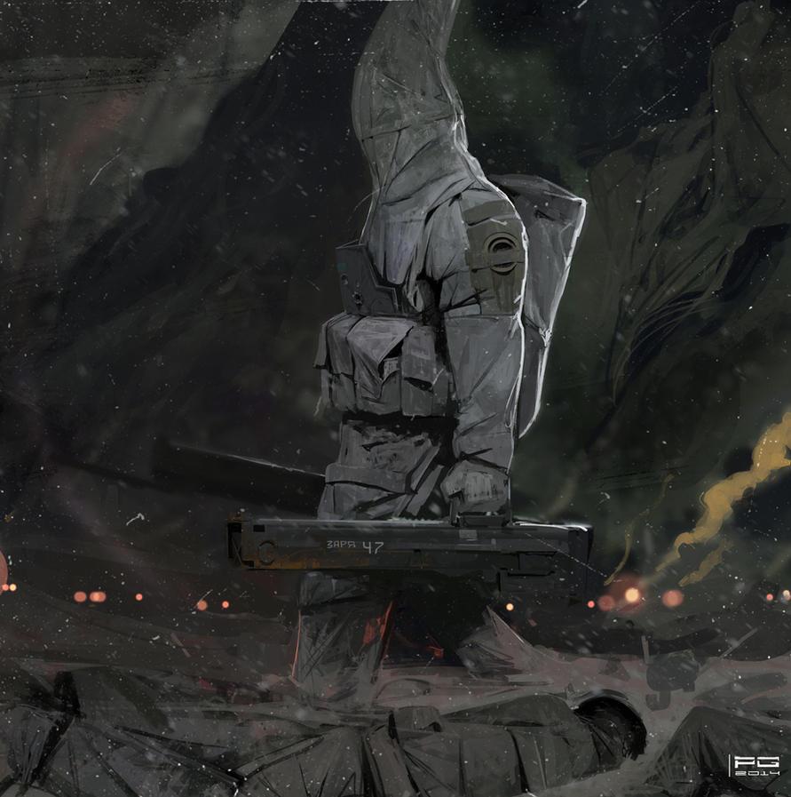 Necrowarrior by ProxyGreen