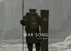 War Song - volsci spear by ProxyGreen