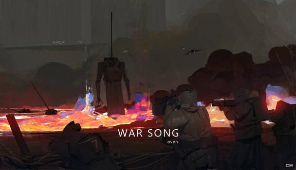 War Song - oven