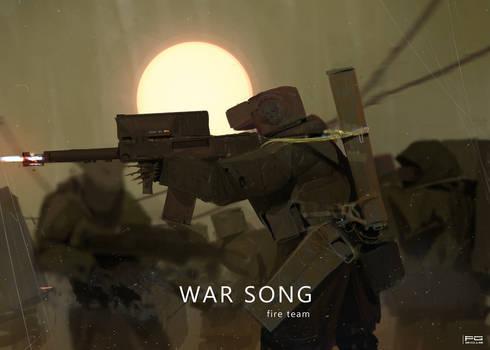 War Song - fire team