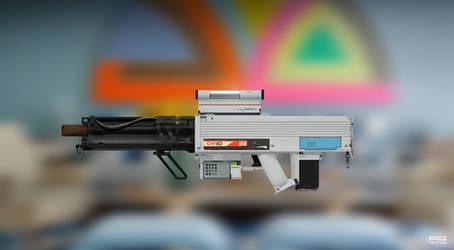 Gauss gun concept by ProxyGreen
