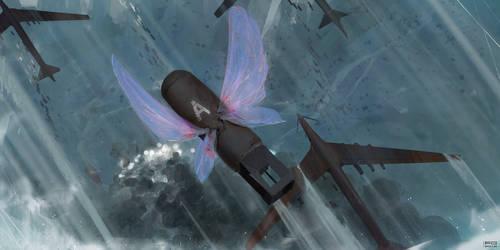 Flight to monster land by ProxyGreen