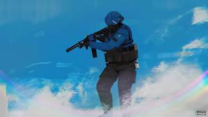 Cyber trooper XII by ProxyGreen