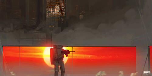 Sunset by ProxyGreen