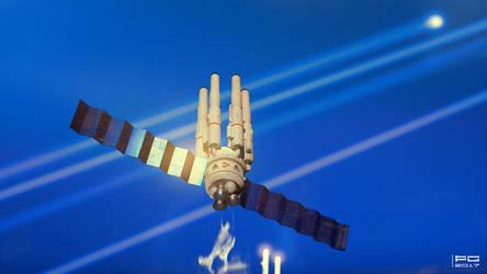 Spaceship sketch 30.05.2017 by ProxyGreen