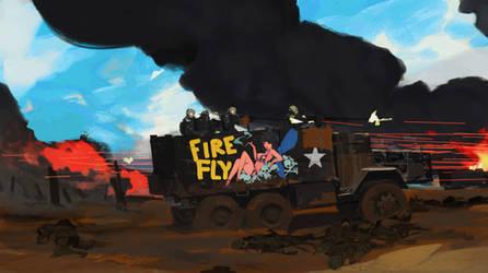 Gun Truck - Firefly