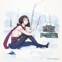 Winter by OnShiGou