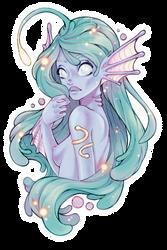Glowy mermaid by Konoko-Yoyo-Tsuke