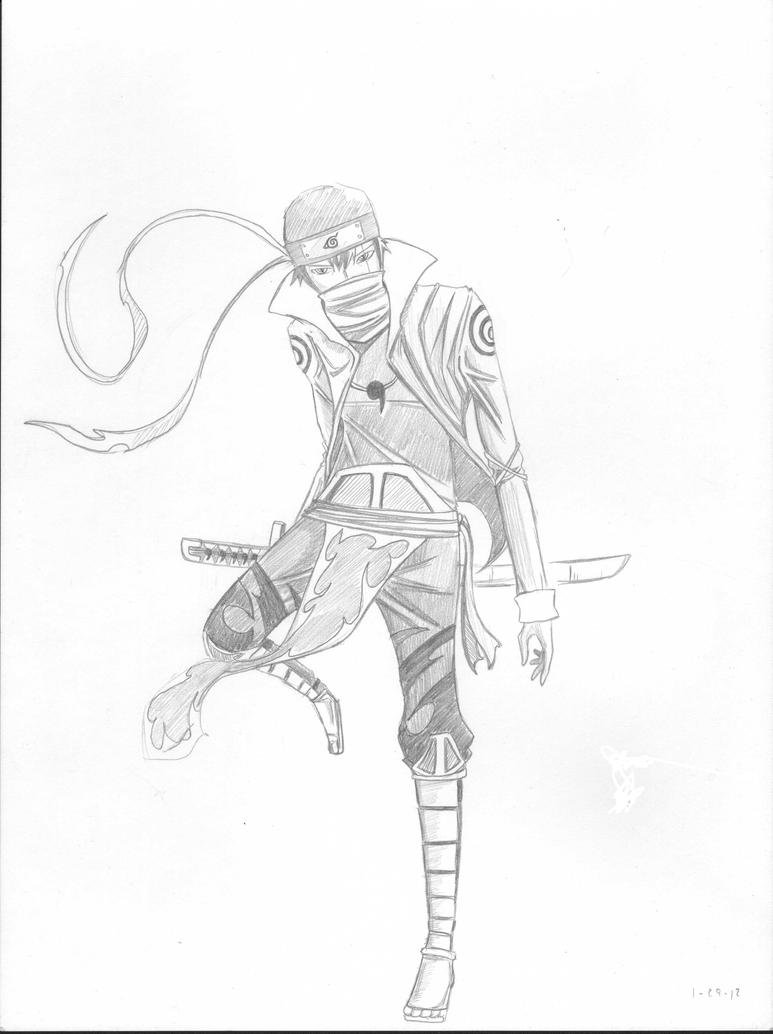 Naruto OC - Lynn by Meikaina