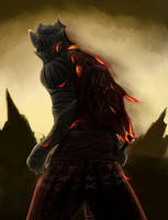 Dark Souls 3 - Red Knight by scottcok