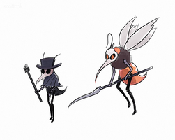 HK Mosquitoes by scottcok