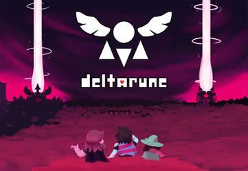 deltarune by aamakuruu