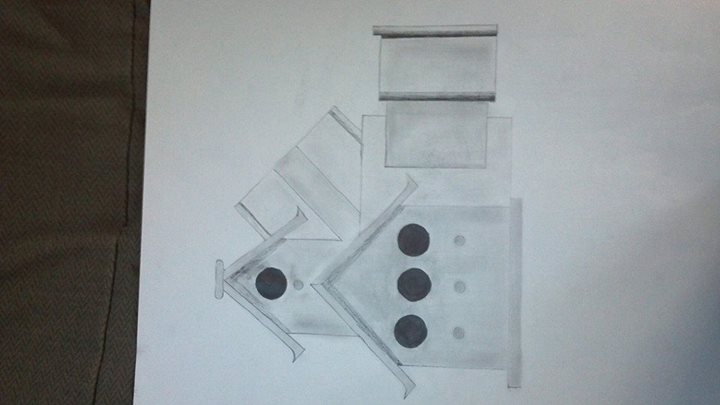 Intermediate drawing - 4pt Perspective by M-Rehe
