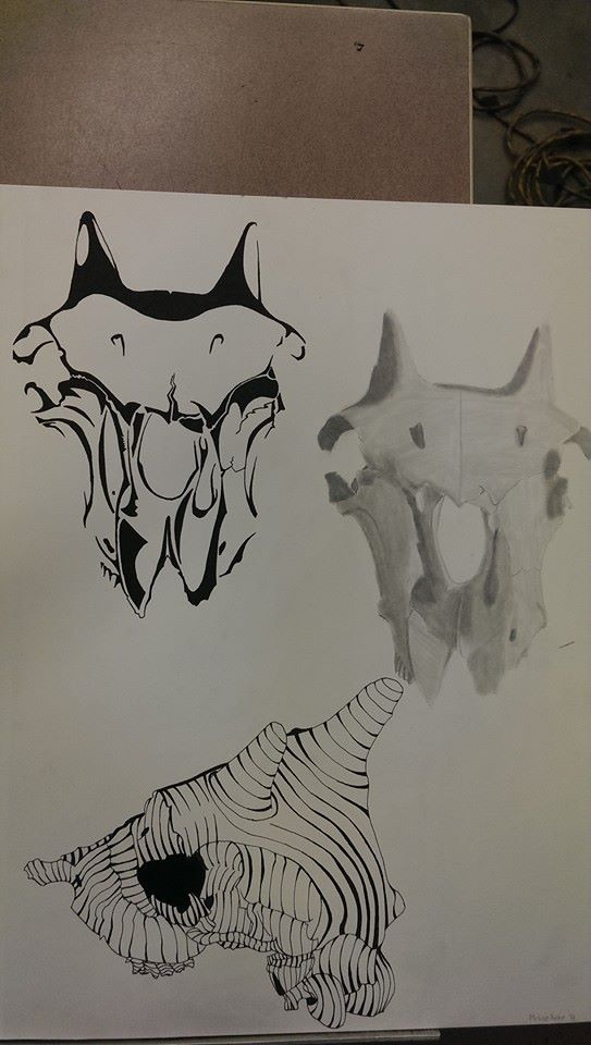 Adv drawing project #2 (pt 1-3) by M-Rehe