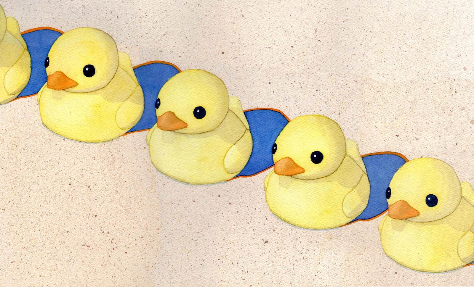 Ducks in a Row by M-Rehe