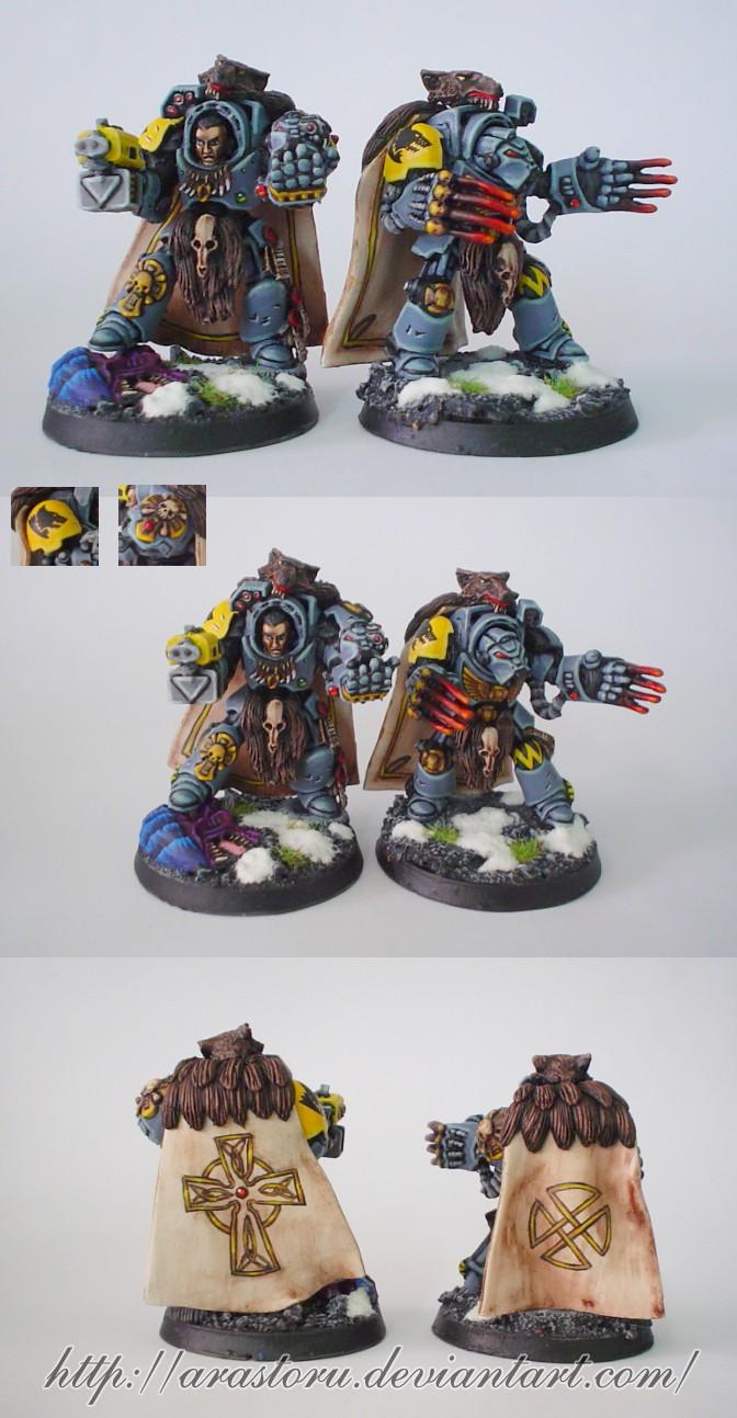 Space Wolves Wolf Guard I by Arastoru