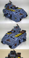 Space Wolves Land Raider Terminus Ultra.