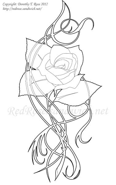 Rose Logo by Dorothy-T-Rose