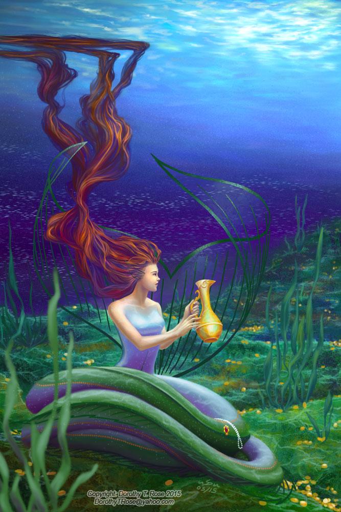 Ocean Blossom by Dorothy-T-Rose