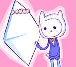 Finn marries a rhombus