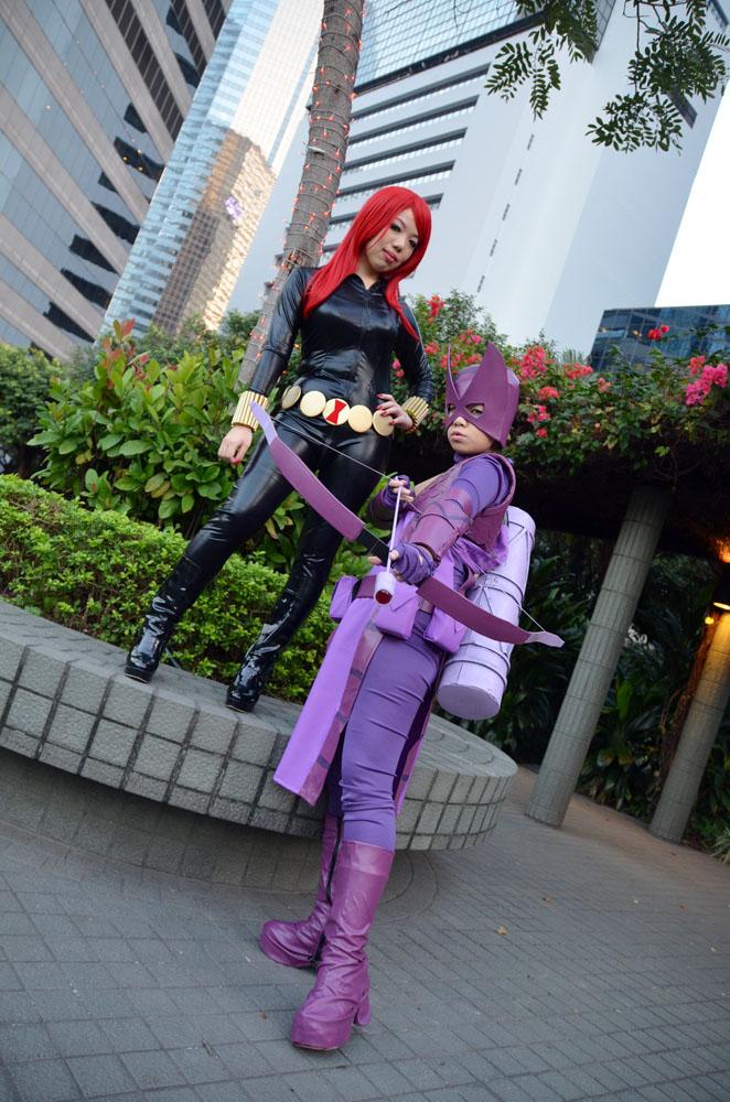 Hawkeye Black Widow by tarta0823