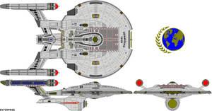 Star Trek Castaways NX-01 S.S. Enterprise