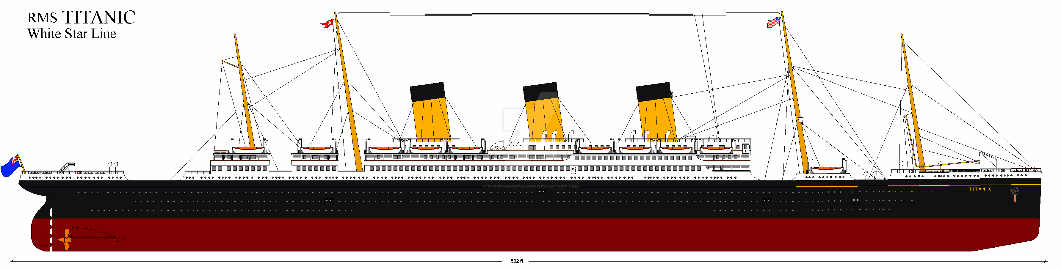 Rms Titanic 1 Au By The6thnightguard On Deviantart