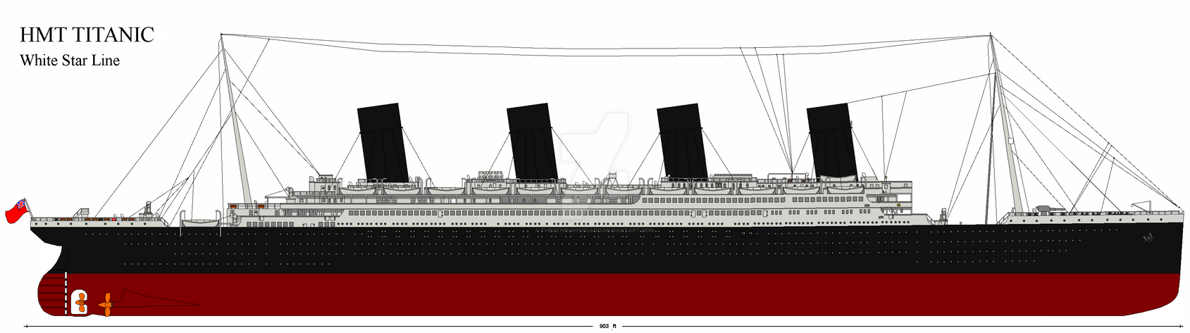Hmt Titanic Au 1915 By The6thnightguard On Deviantart