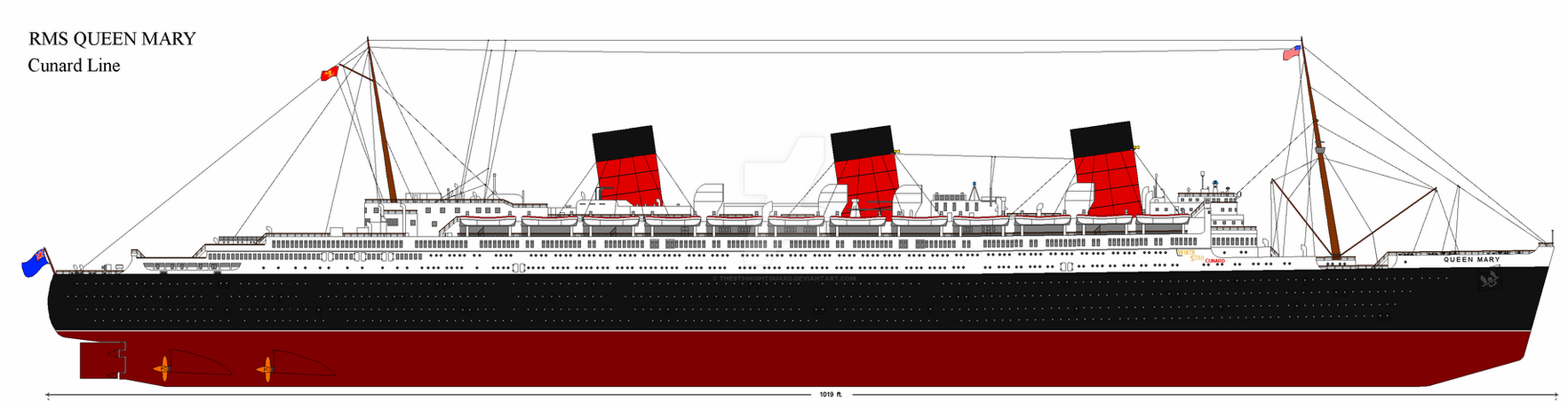 AU Queen Mary by p51cmustang
