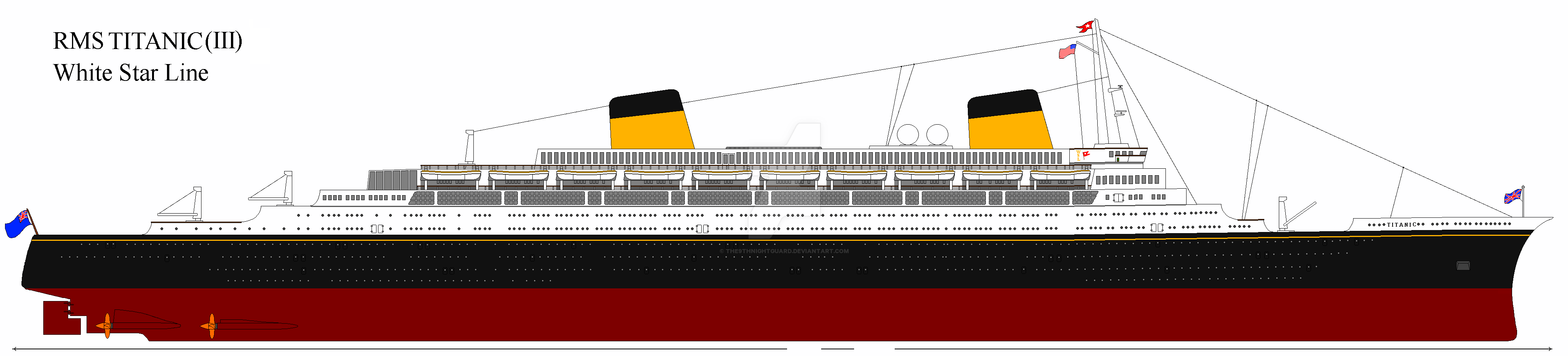 rms titanic  iii   1975 au  by the9thnightguard on deviantart