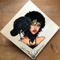 BIRD WOMAN #2 - Crow