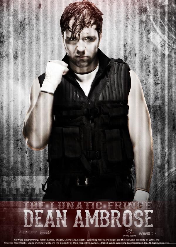 Dean Ambrose Poster By MMR16