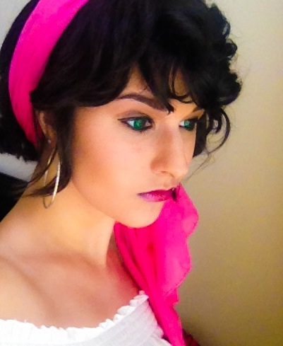 Esmeralda Makeup Test by kittumgirl