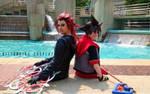 Axel and Sora at Otakon!
