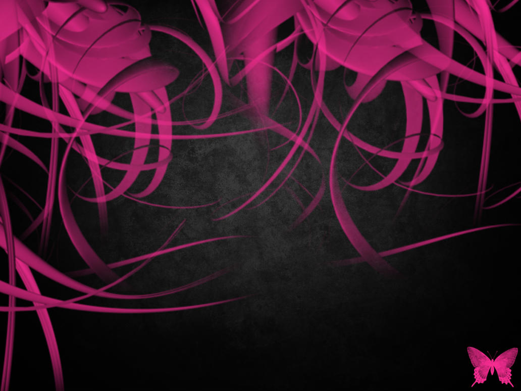 Black_Pink_abstract_by_Sincity by SinCityGirl73 on DeviantArt