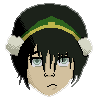 My pixel art Toph__pixelated__by_uronlyhope-d17cfp0