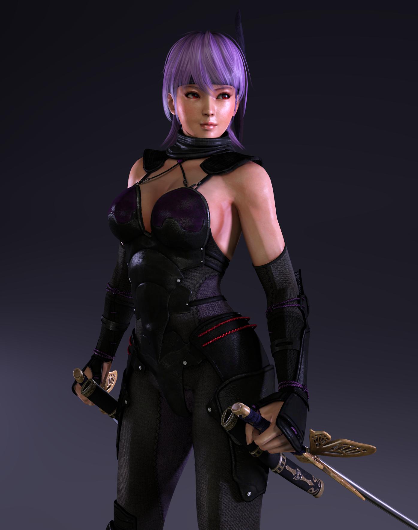 Ayane ninja gaiden 3 razor's edge - Render17 by Dizzy-XD on DeviantArt  Ayane ninja gai...