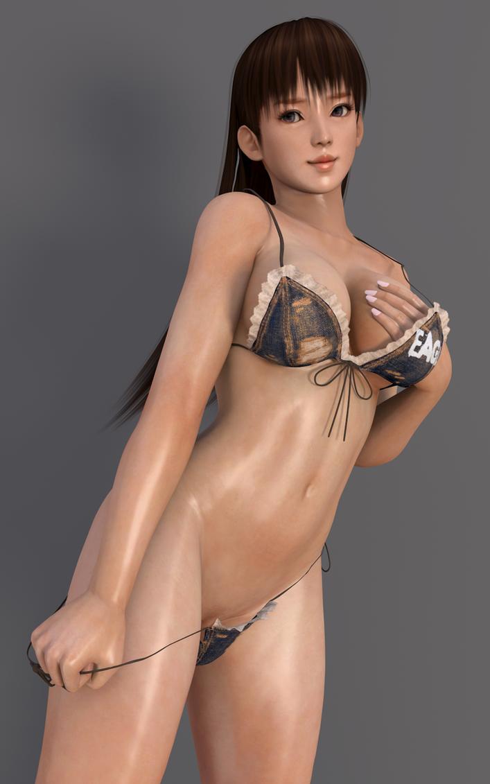 Lei fang nude fanart cg