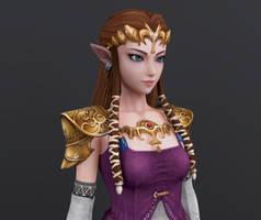 Princess Zelda- Render 00